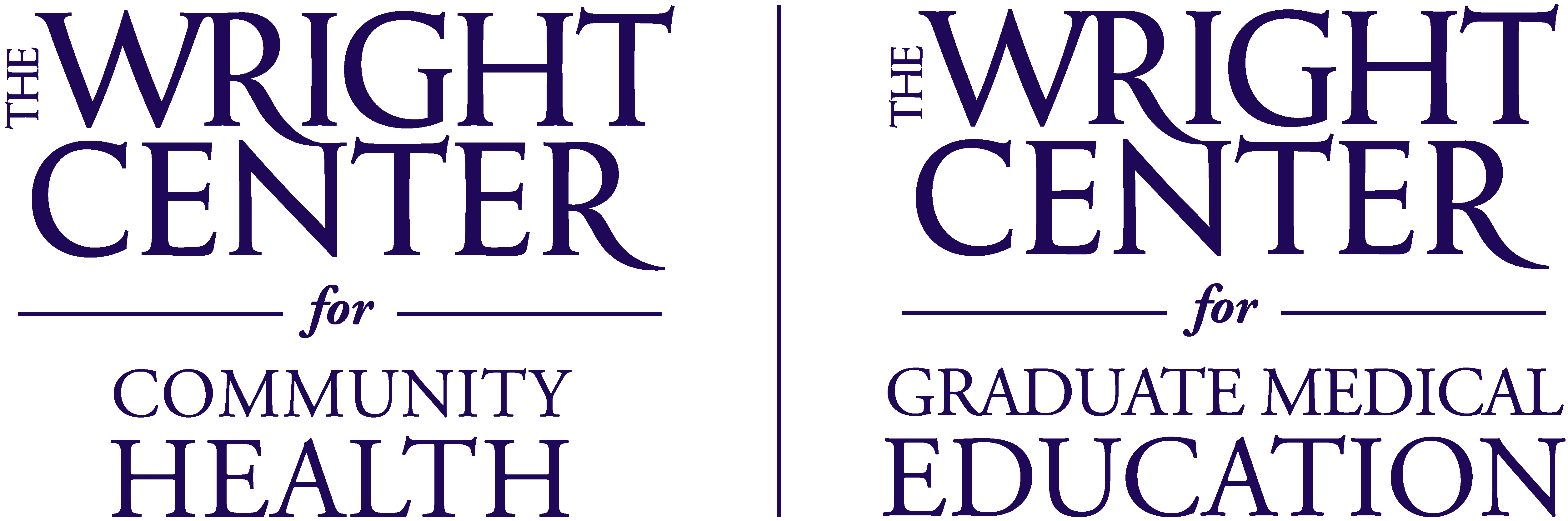 The Wright Center Logo