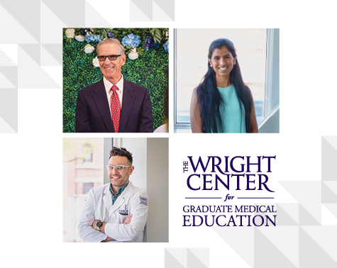 The Wright Center for Graduate Medical Education Confers Awards, Including First 'Gerard Geoffroy Patient and Community Engagement Award'